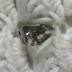 Stainless steel elephant ring